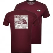 Product Image for The North Face Red Box T Shirt Burgundy